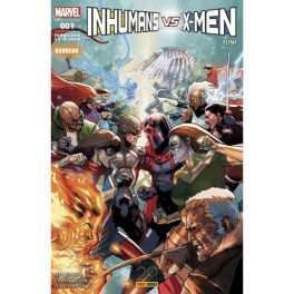 IVX / INHUMANS VS X-MEN 1 to 4 COMPLETE SET