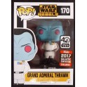 POP ! 170 STAR WARS REBELS - GRAND AMIRAL THRAWN EXCLUSIVE