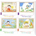4 INDEX CARDS CHIBI MARUKO CHAN 0490