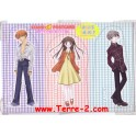 3 SILHOUETTES FRUITS BASKET