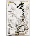 THE NEW 52: THE FLASH 4 SKETCH VARIANT